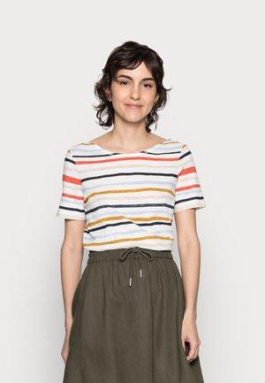 T-shirts med print - multi/rainbow yellow