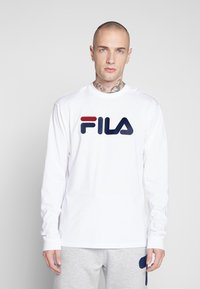 Fila - PURE - Long sleeved top - bright white - 0