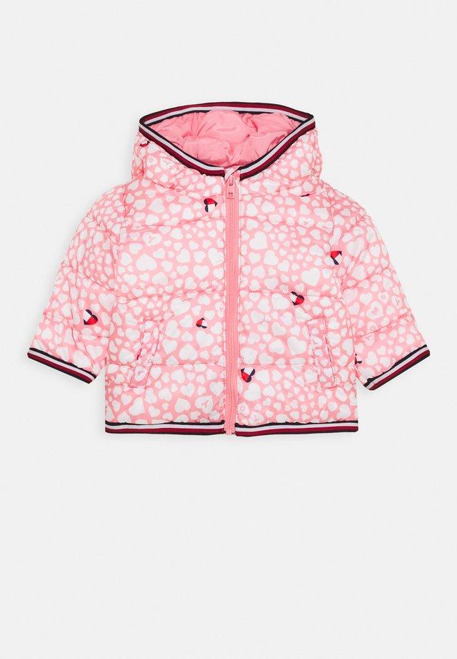 BABY PRINTED PUFFER JACKET - Winter jacket - pink