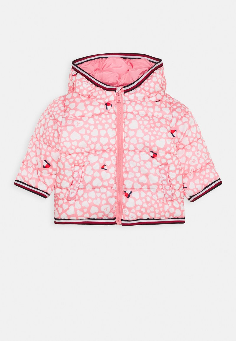 Tommy Hilfiger - BABY PRINTED PUFFER JACKET - Winter jacket - pink