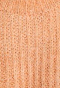 Topshop Petite - PLEAT CROP - Jumper - pink - 6