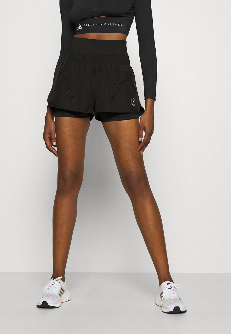 adidas by Stella McCartney - TRUEPUR - Sports shorts - black