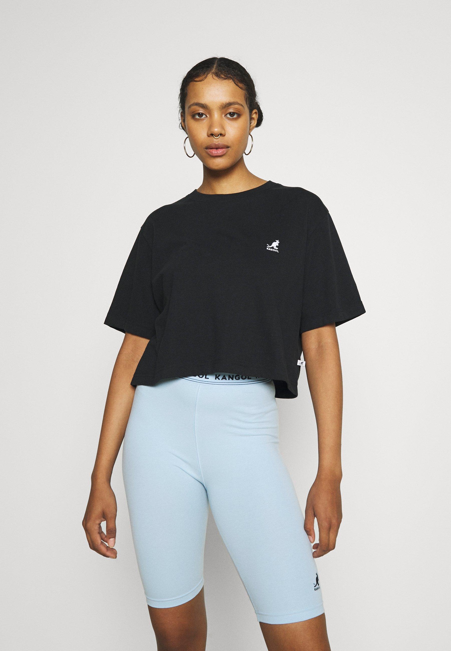 Femme CALIFORNIA CROPPED - T-shirt basique