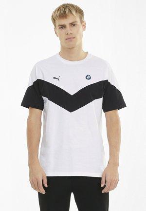 BMW TEE - Print T-shirt - puma white