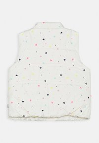 GAP - TODDLER GIRL PUFFER VEST - Kamizelka - white - 1