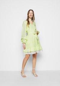 CECILIE copenhagen - LIV - Day dress - avocado green - 1