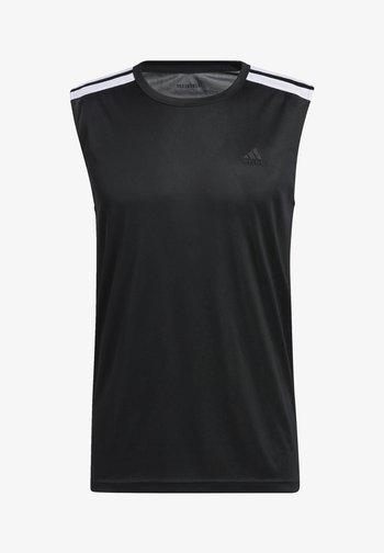Top - black/white