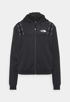 FULL ZIP - Chaqueta fina - black