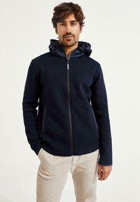 Ecoalf - Zip-up sweatshirt - azul - 1