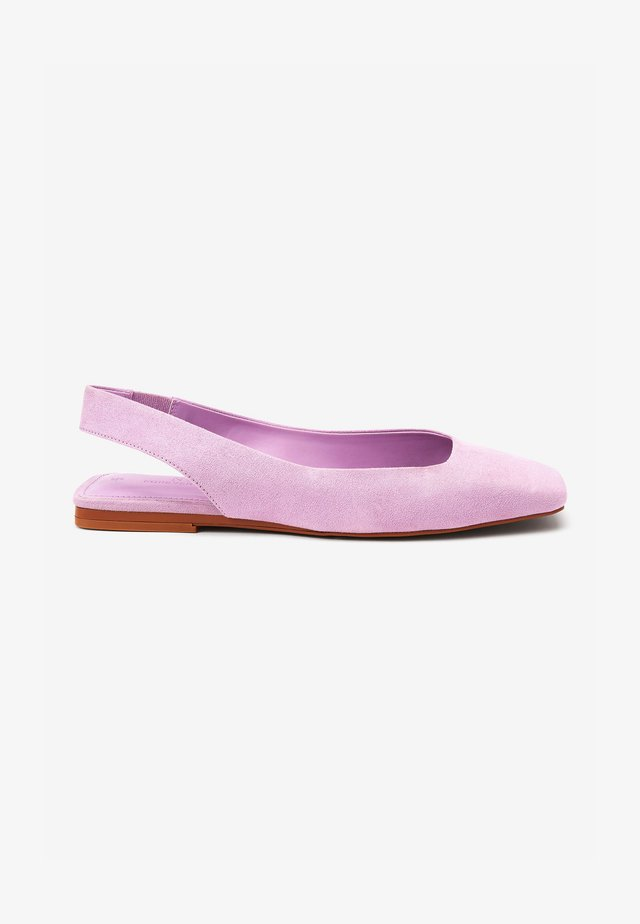 SQUARE TOE  - Baleriny - lilac