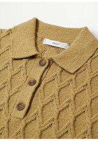 Mango - AZORES - Polo shirt - kaki - 6