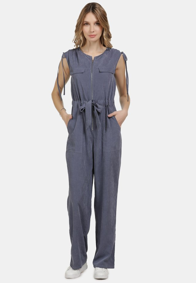 JUMPER - Jumpsuit - denim blau