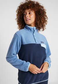 Patagonia - SYNCH SNAP - Fleecepaita - neo navy/woolly blue - 3