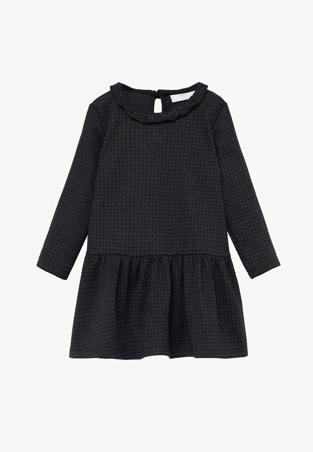 MELISA - Korte jurk - charcoal