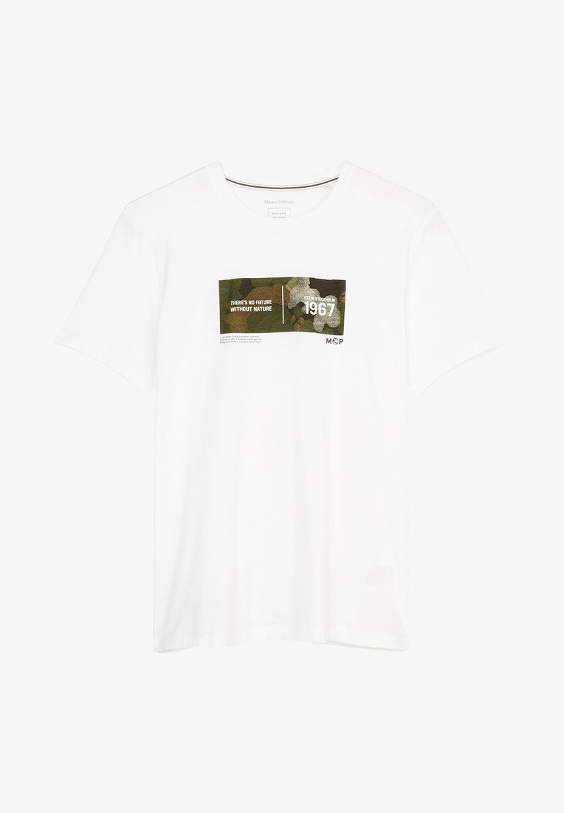Marc O'Polo - Print T-shirt - white