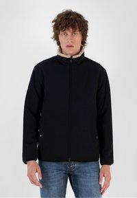 Scalpers - REVERSIBLE - Fleece jacket - beige - 3