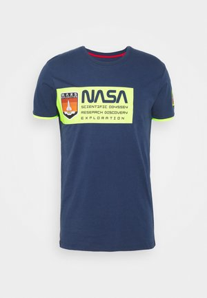 MARS - Print T-shirt - new navy