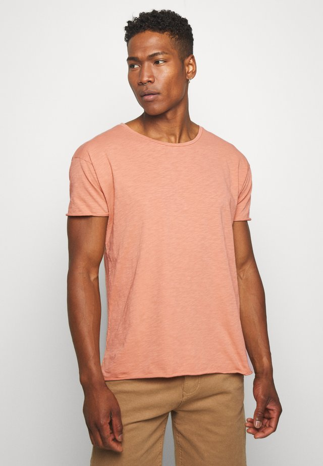 ROGER - Jednoduché triko - apricot
