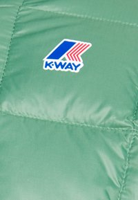 K-Way - UNISEX JAQUES THERMO PLUS DOUBLE - Winter jacket - blue maritime/green darkforest - 4