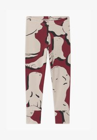 Papu - FOLD UNISEX - Leggings - Trousers - bordeaux - 0