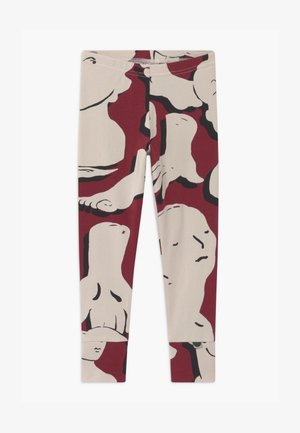FOLD UNISEX - Leggings - Trousers - bordeaux