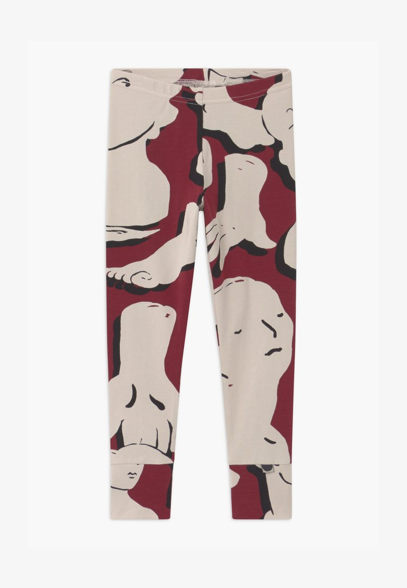Papu - FOLD UNISEX - Leggings - Trousers - bordeaux