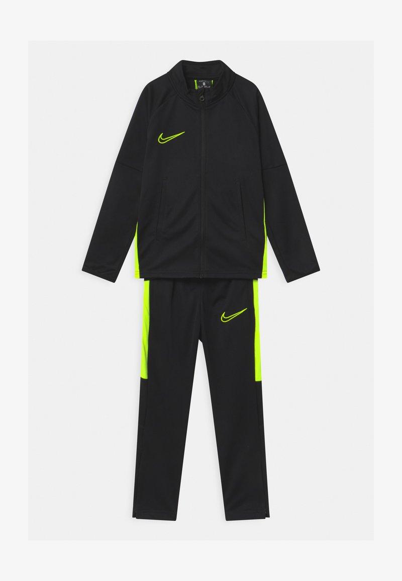 Nike Performance - DRY ACADEMY SET - Trainingsanzug - black/volt