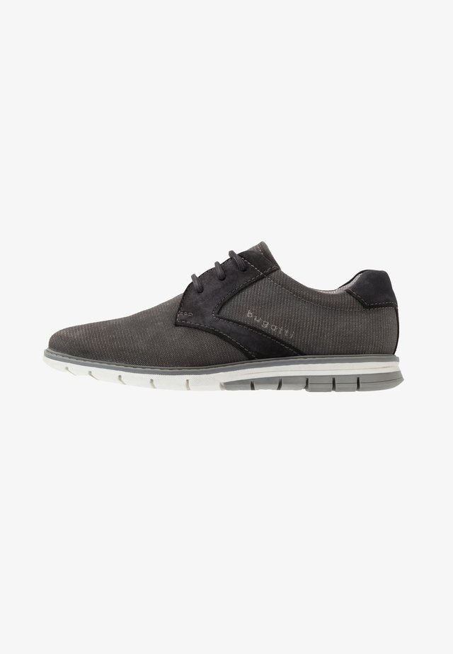 SANDMAN - Casual lace-ups - grey