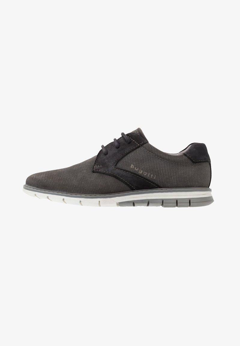 Bugatti - SANDMAN - Zapatos con cordones - grey