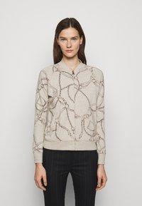 Lauren Ralph Lauren - Zip-up sweatshirt - farro heather - 0