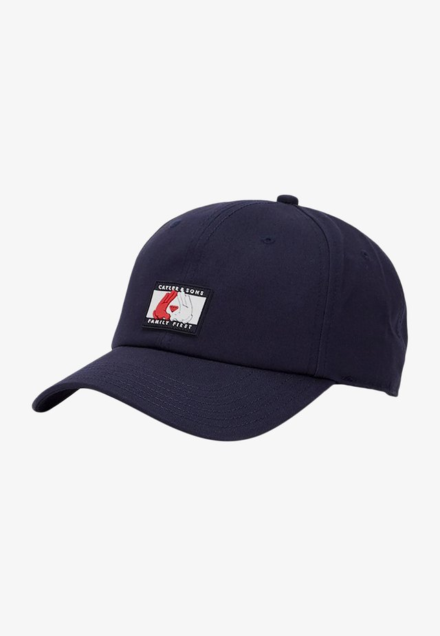 Kšiltovka - navy/wht
