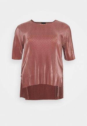 SPOT PLISSE  - Blouse - dusky pink