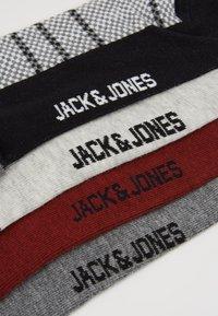 Jack & Jones - 4 PACK - Sokletter - black/green/blue - 2