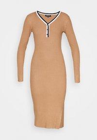 Morgan - MULLY - Jumper dress - camel - 4