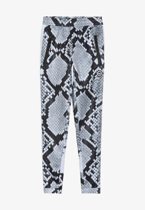KIDS RUNNING BOTTOM MONO SNAKE - Pantalon de survêtement - grey