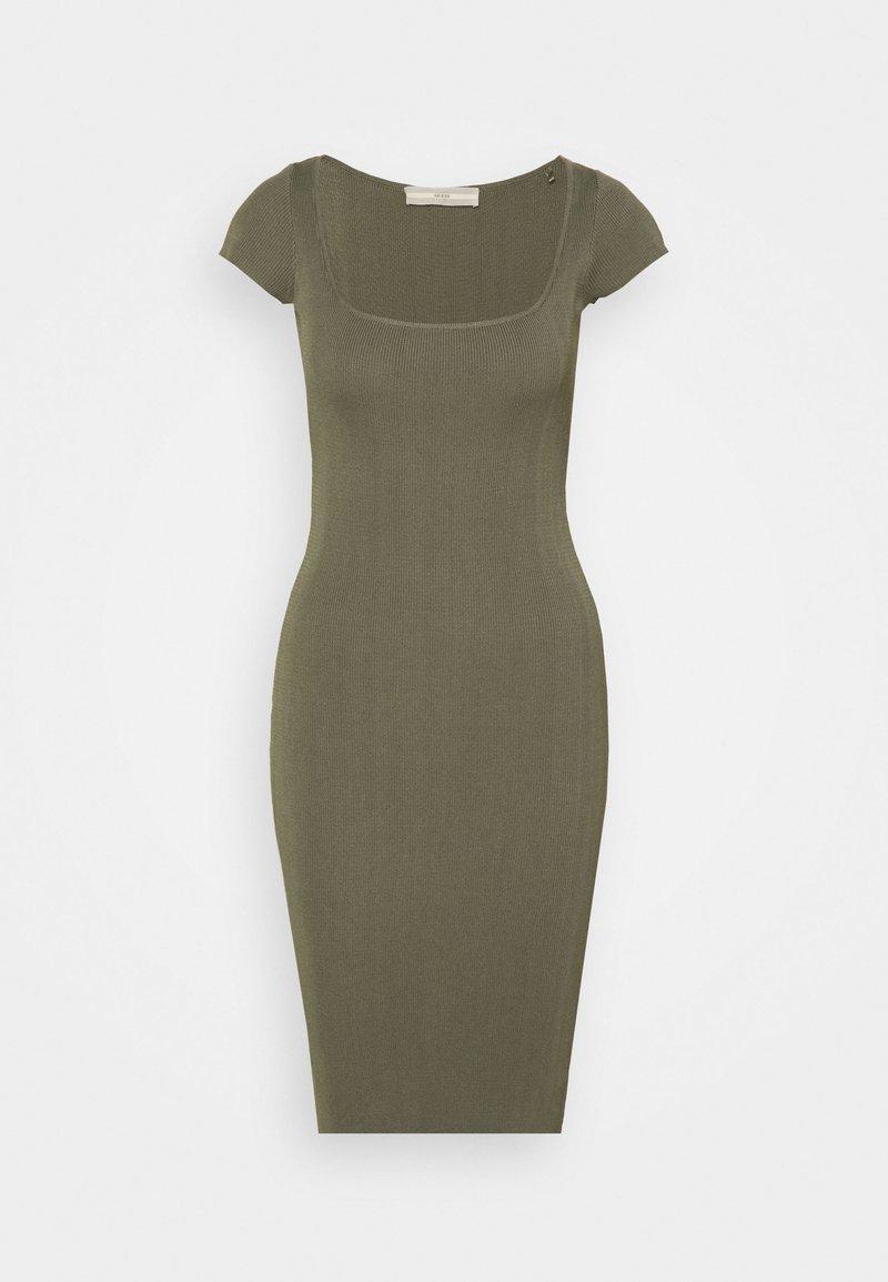 Guess - CHARLOTTE DRESS - Gebreide jurk - baja palm
