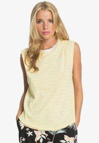 Roxy - GOOD EYES - Top - pale banana kuta stripes - 0