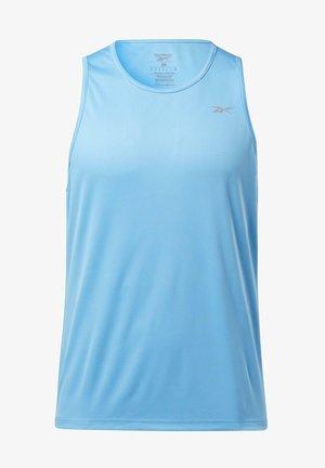 ESSENTIALS SPEEDWICK RUNNING SINGLET TANK - Top - turquoise