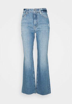 Straight leg jeans - stairway