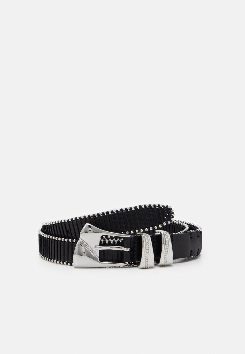 Iro - JALLA - Pásek - black/silver-coloured