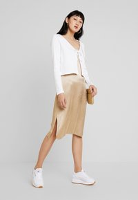 Monki - MATHILDA CARDIGAN - Kardigan - white light