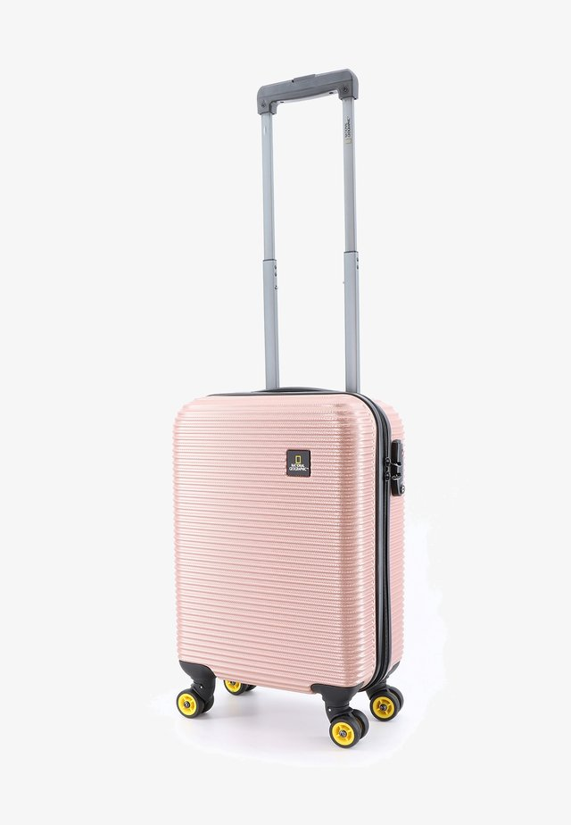 ABROAD - Wheeled suitcase - gold
