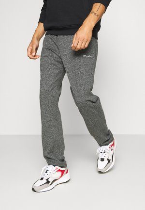 STRAIGHT HEM PANTS - Tracksuit bottoms - grey dark melange