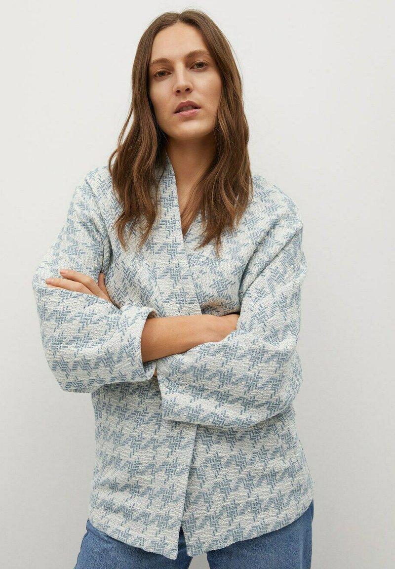 Mango - KIM - Summer jacket - himmelblau