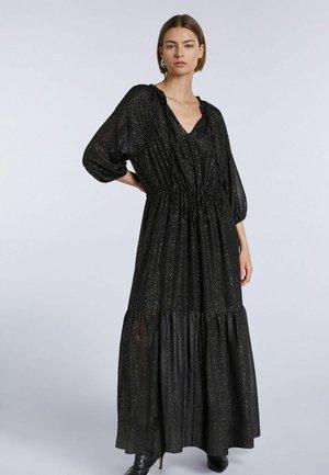 Maxi dress - black camel