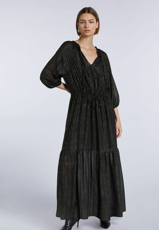 Maxi dress - black camel