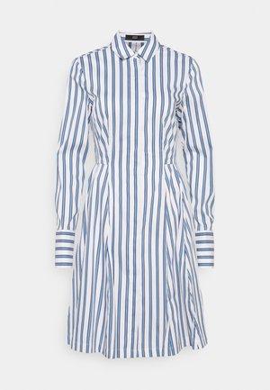 SUMMER DRESS - Vestito estivo - white/blue