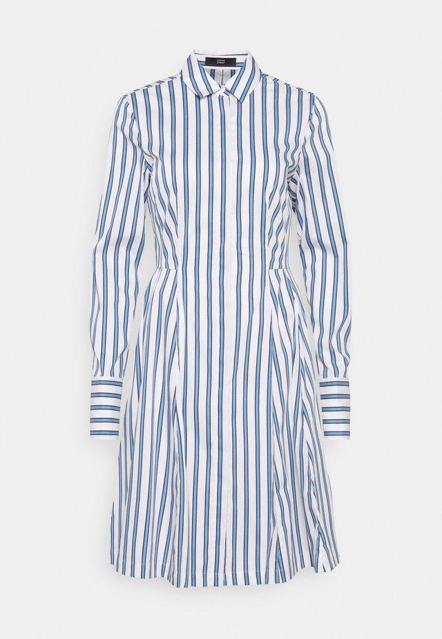 SUMMER DRESS - Day dress - white/blue