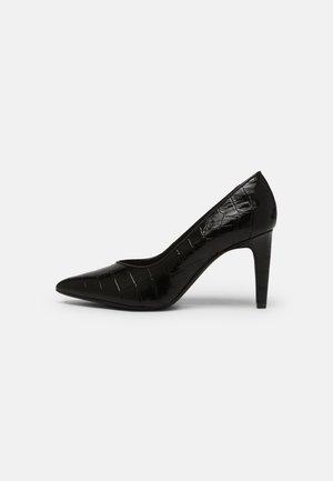 GENOA 85 COURT - Klasične cipele s visokom petom - black