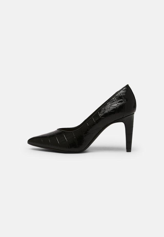 GENOA 85 COURT - Classic heels - black